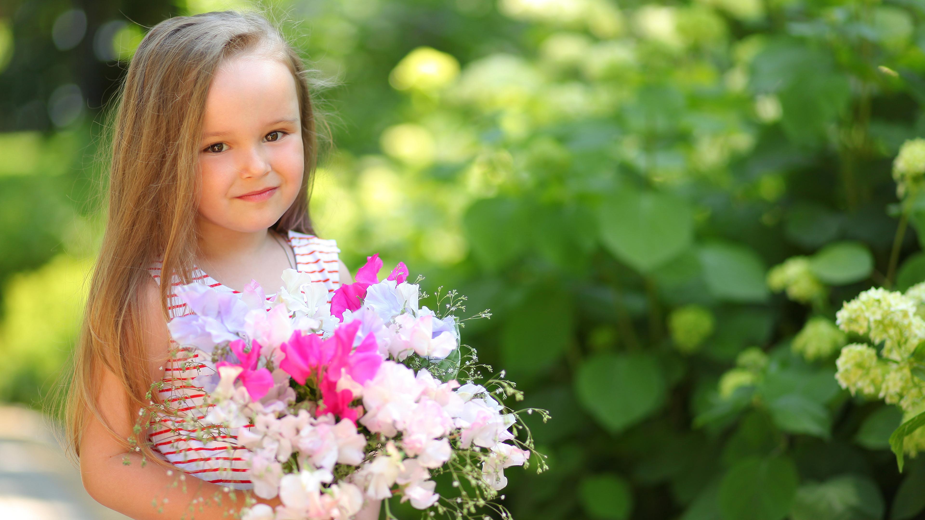 Фото цветы для маленькой девочки