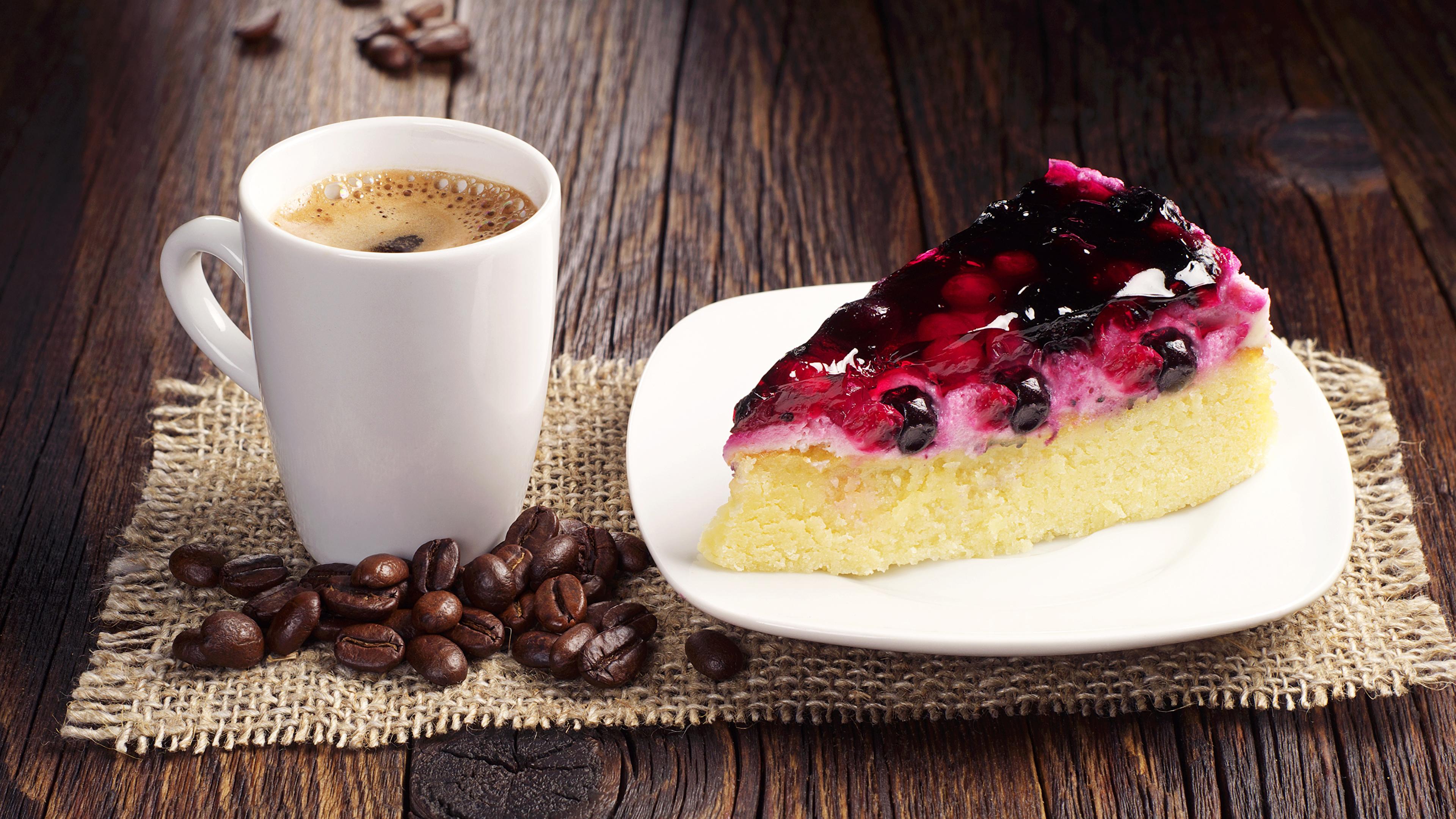 Кофе с пирожными открытки 74
