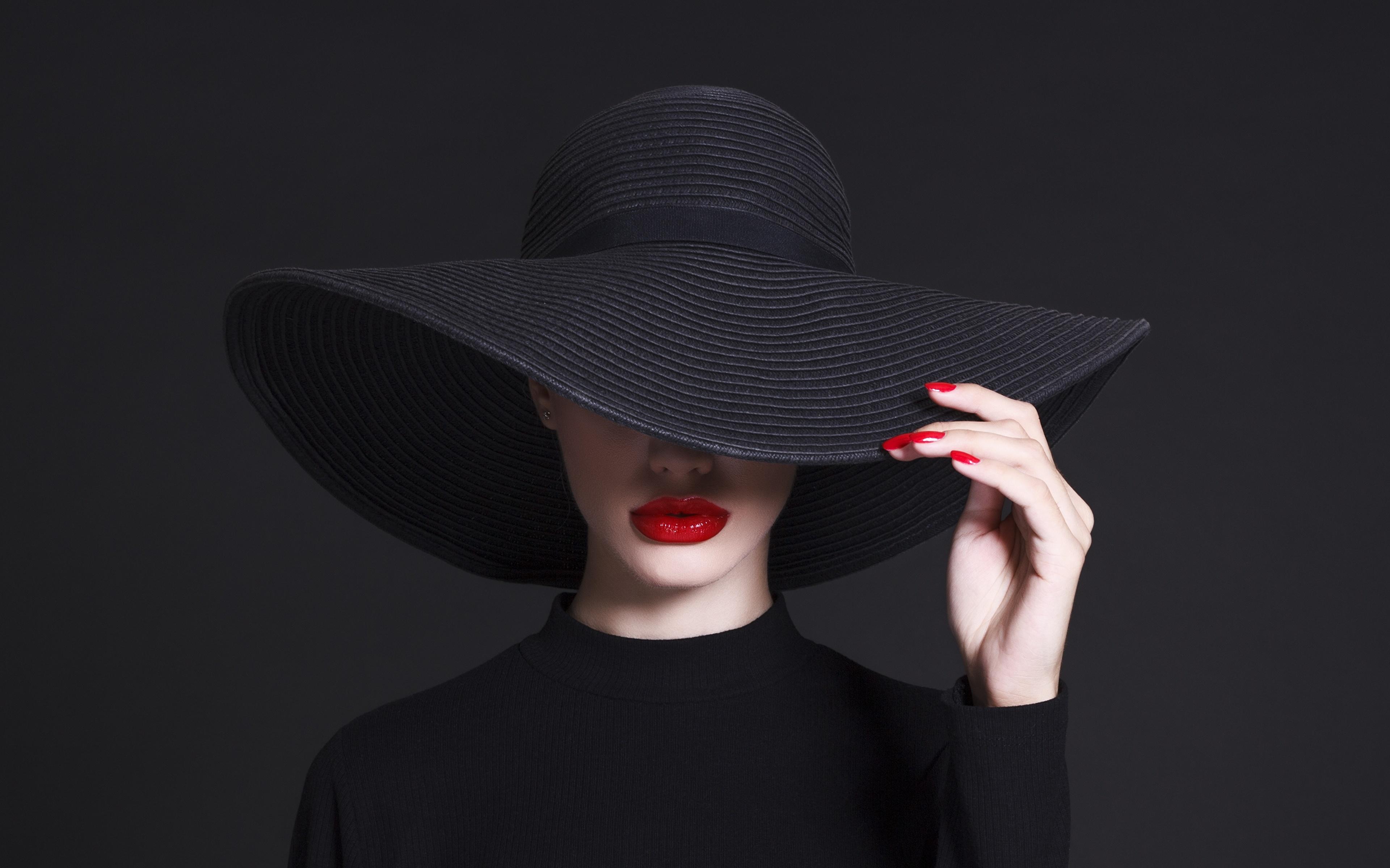 француженка в красной шляпе  № 156141 загрузить
