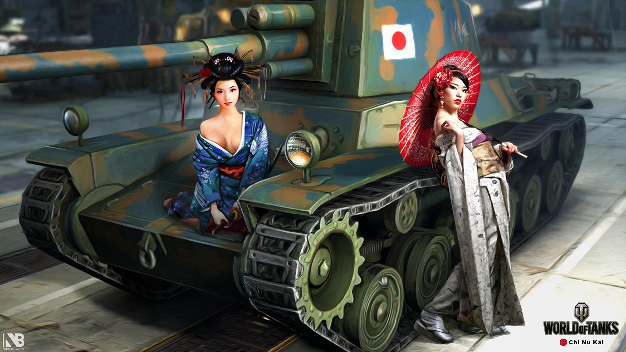 обои для рабочего стола ворлд оф танк с девушками № 214790 без смс