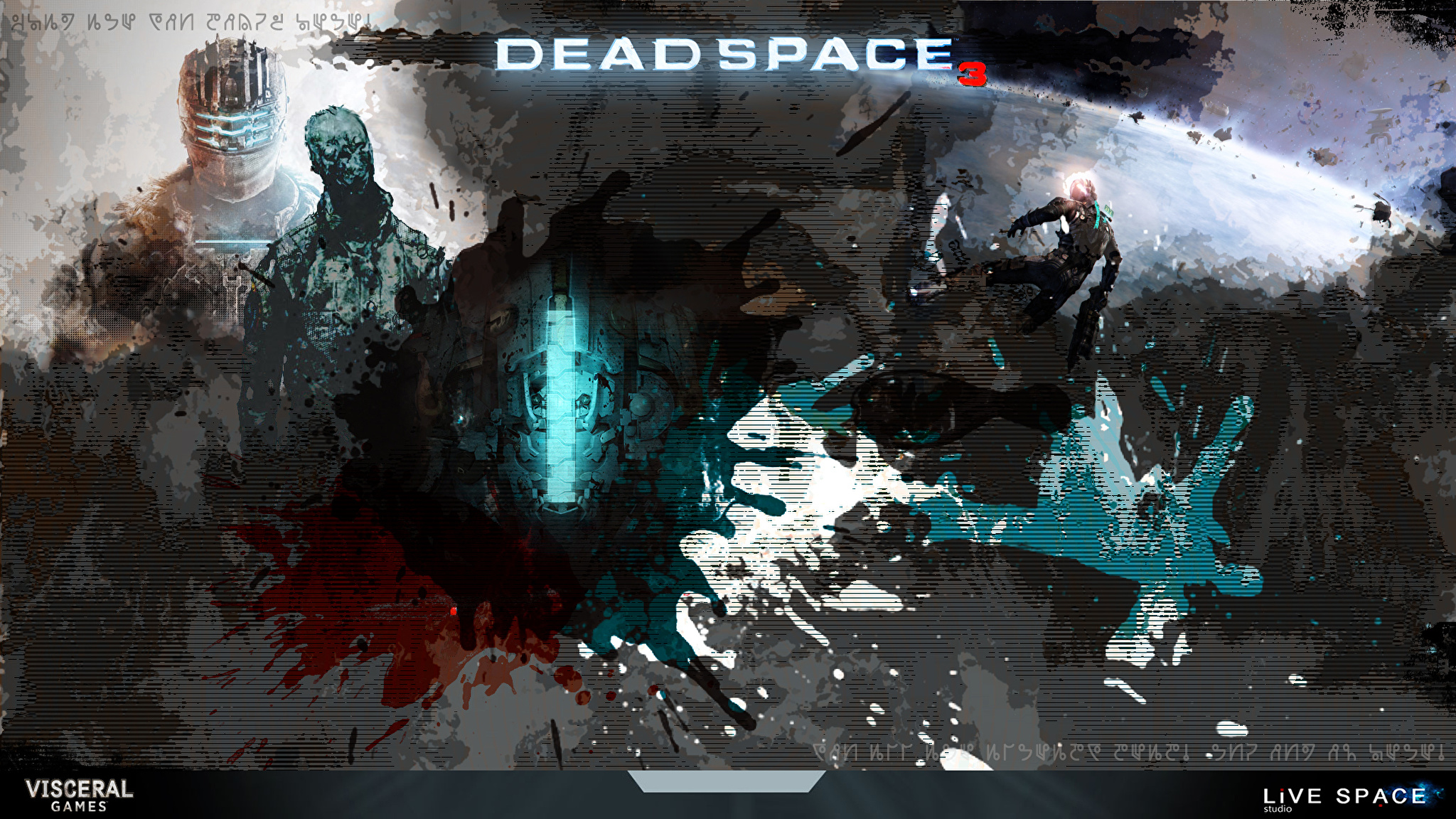 графика неон dead space  № 2280476 без смс
