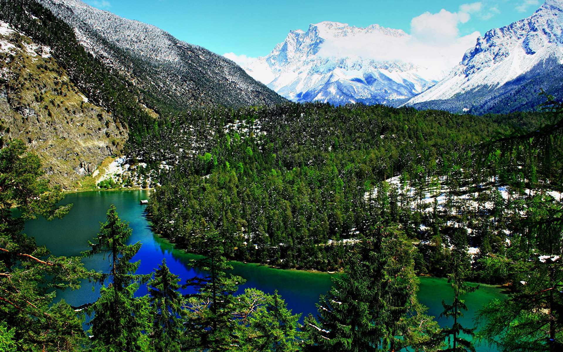 австрия горы обои на рабочий стол № 546402 бесплатно