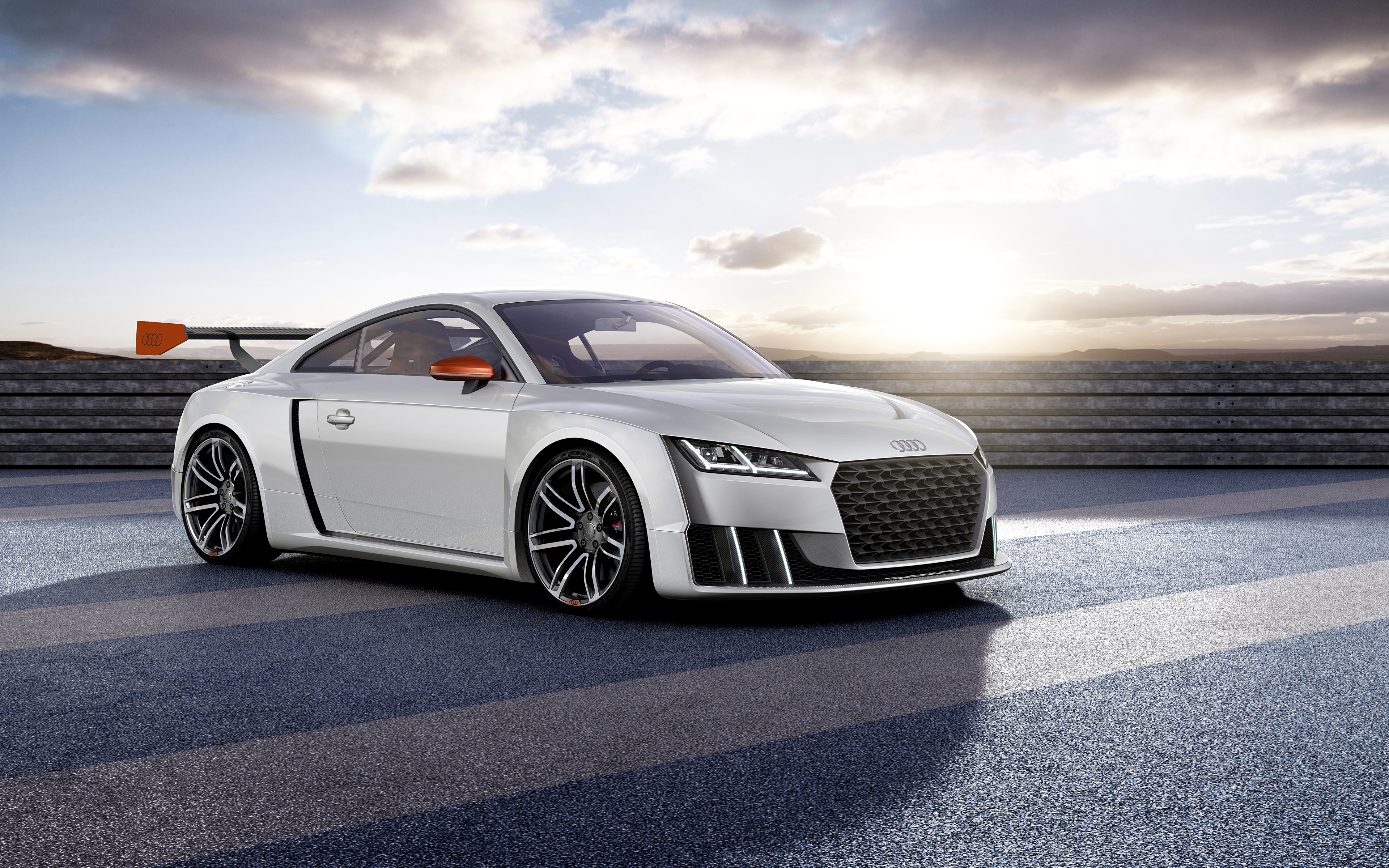Audi TT спорткар дорога  № 3769090 загрузить