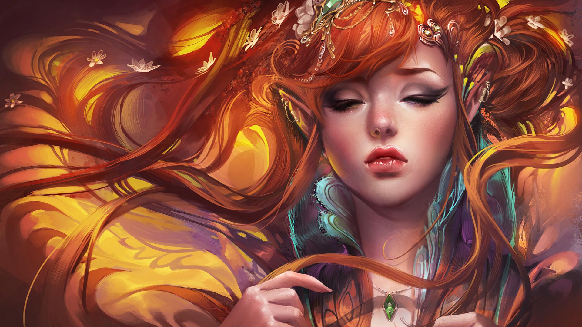 Pretty elf women nude picture