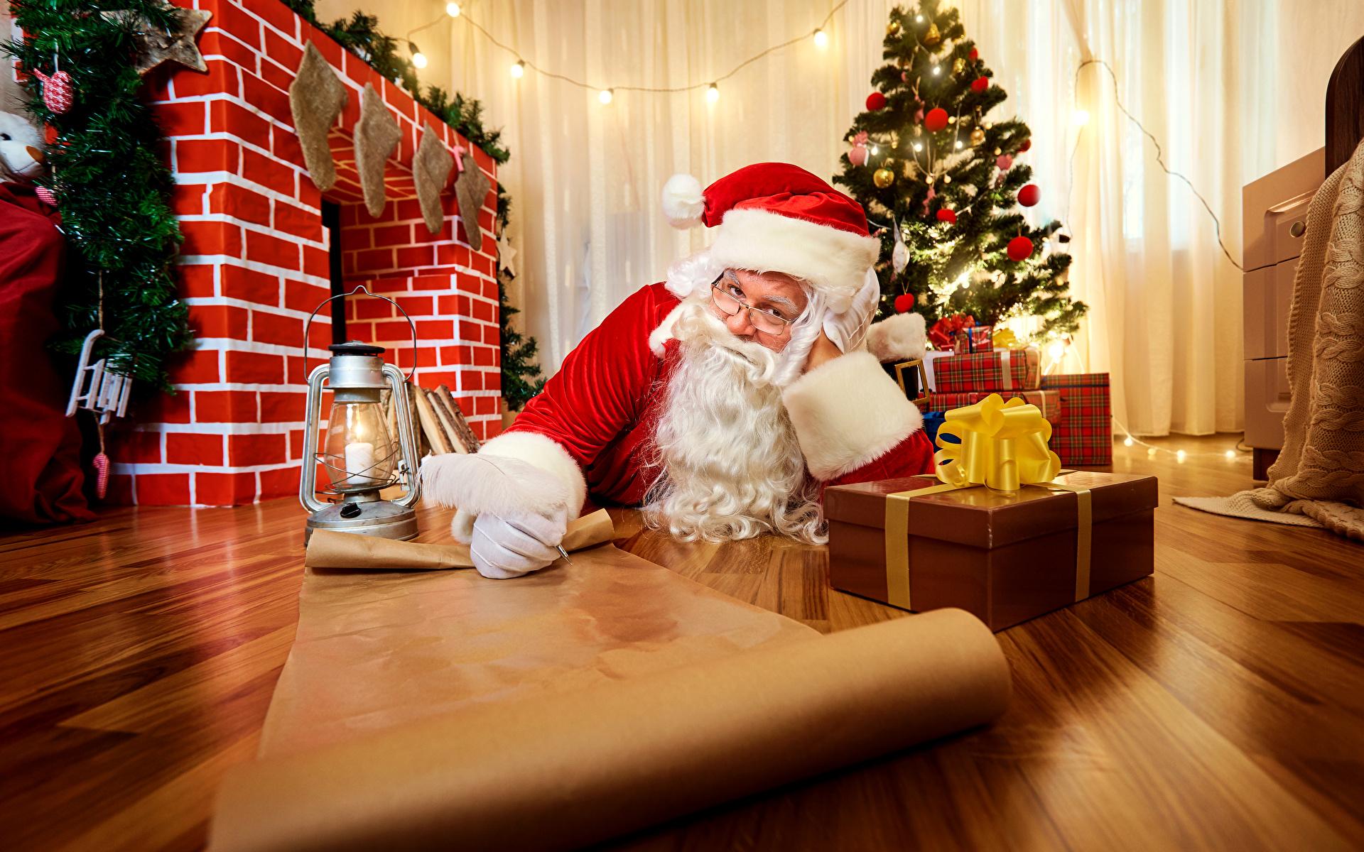 Праздник новый год дед мороз