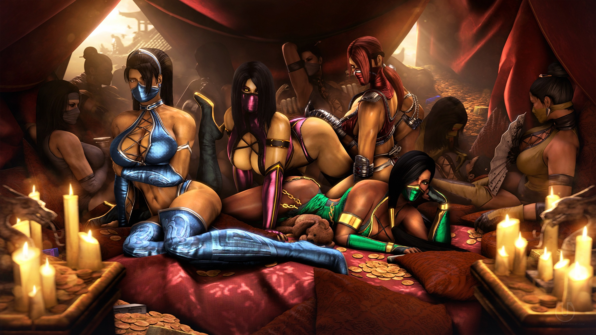 Mortal kombat sexy girl hot hentai adult film