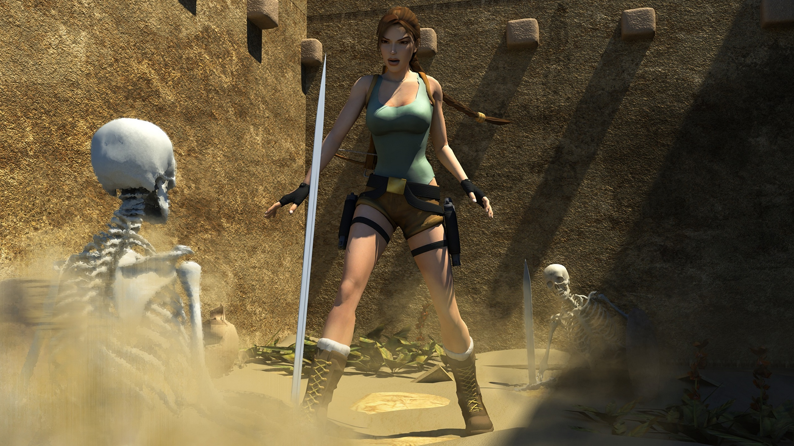 Tomb raider fucked by monster hentia boob
