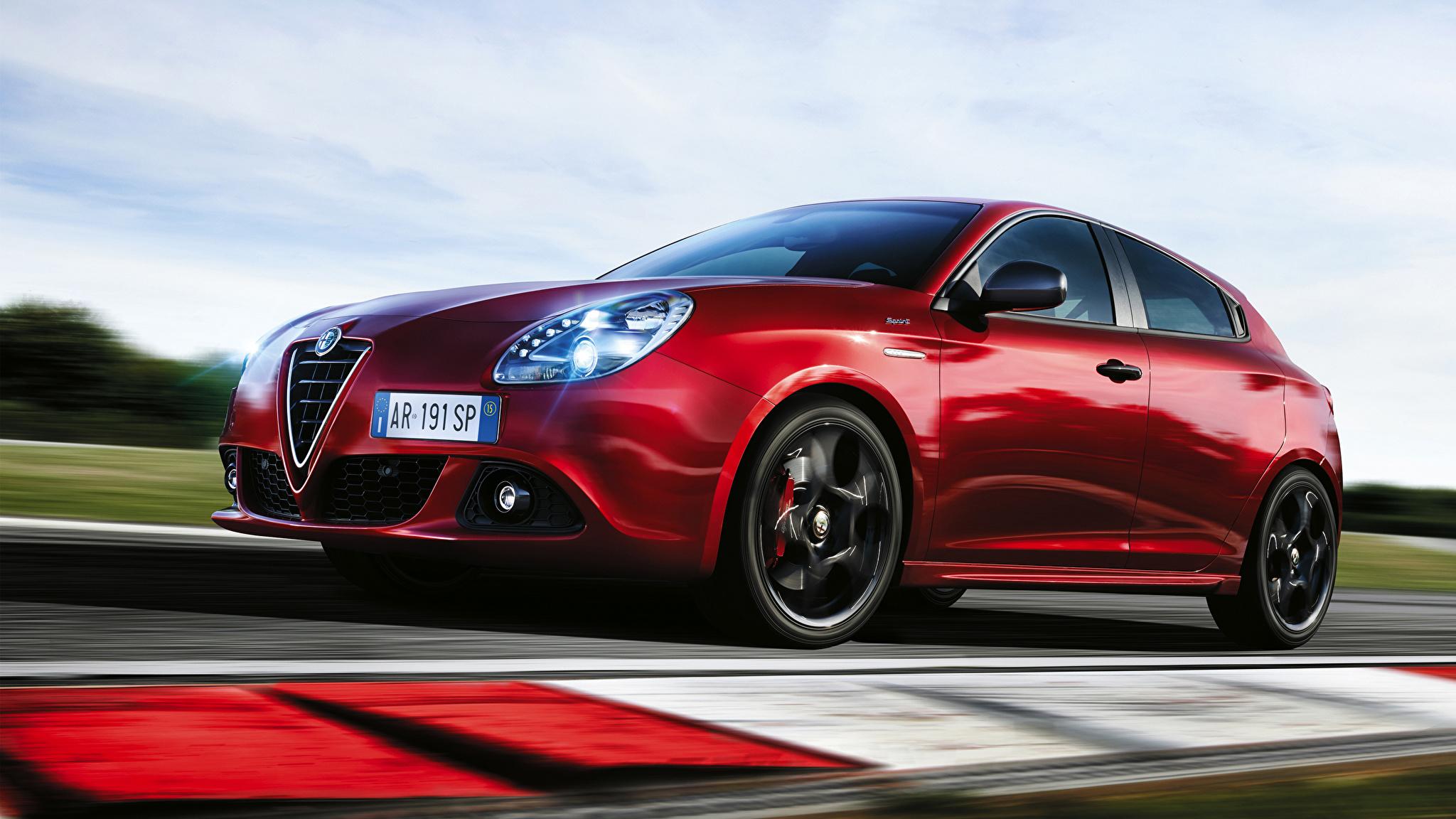 Alfa Romeo Бордовая  № 2426499  скачать