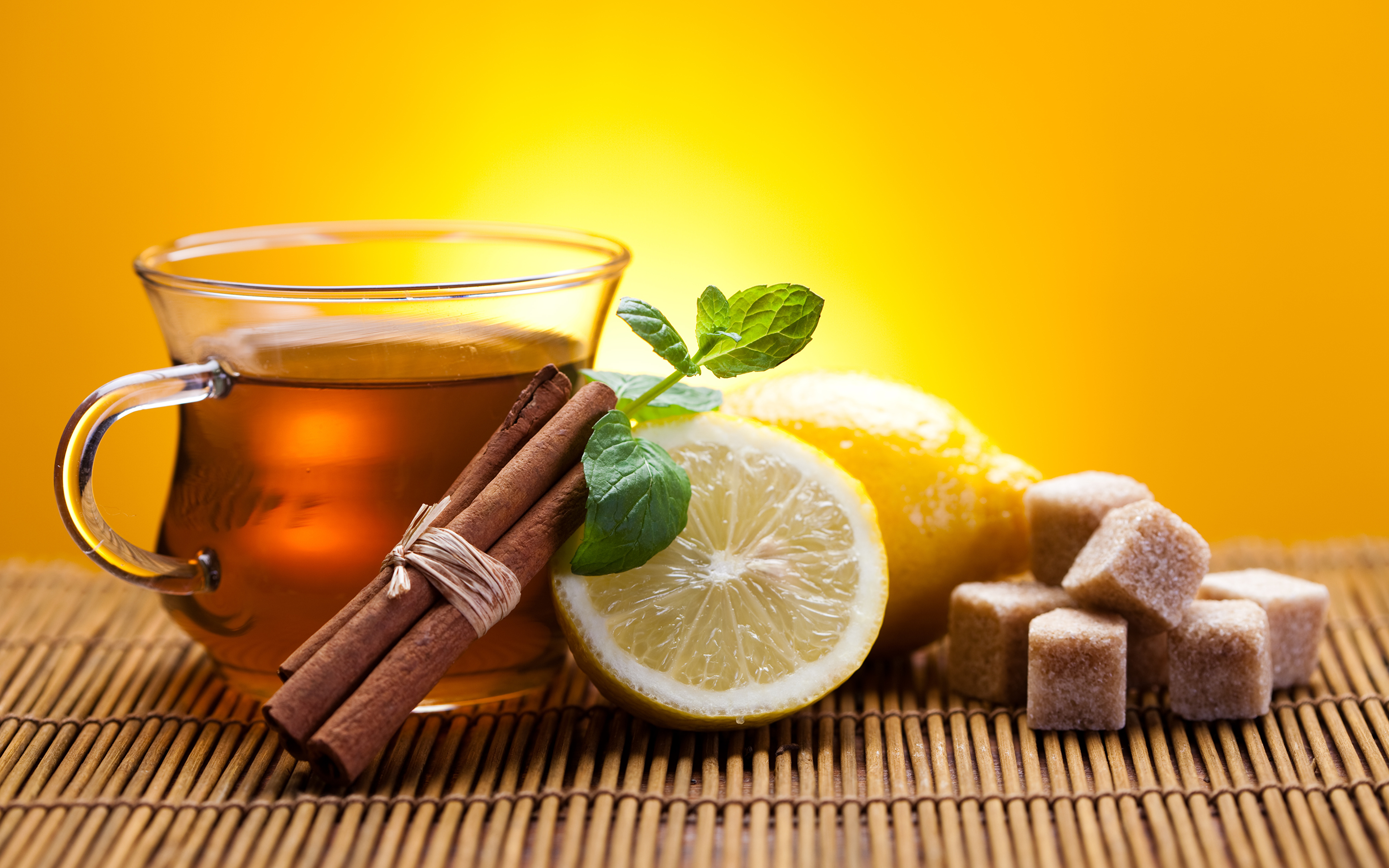 пирожные лимоны чай  № 3678303 бесплатно