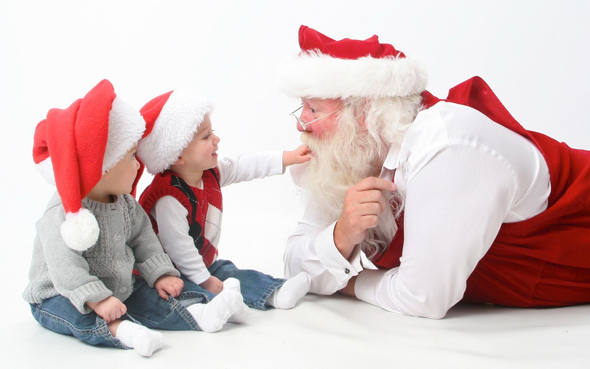 Фото деде мороза с детьми