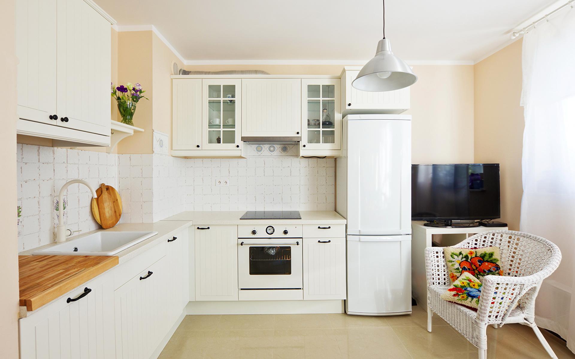 Светлая кухня  № 1754594 без смс