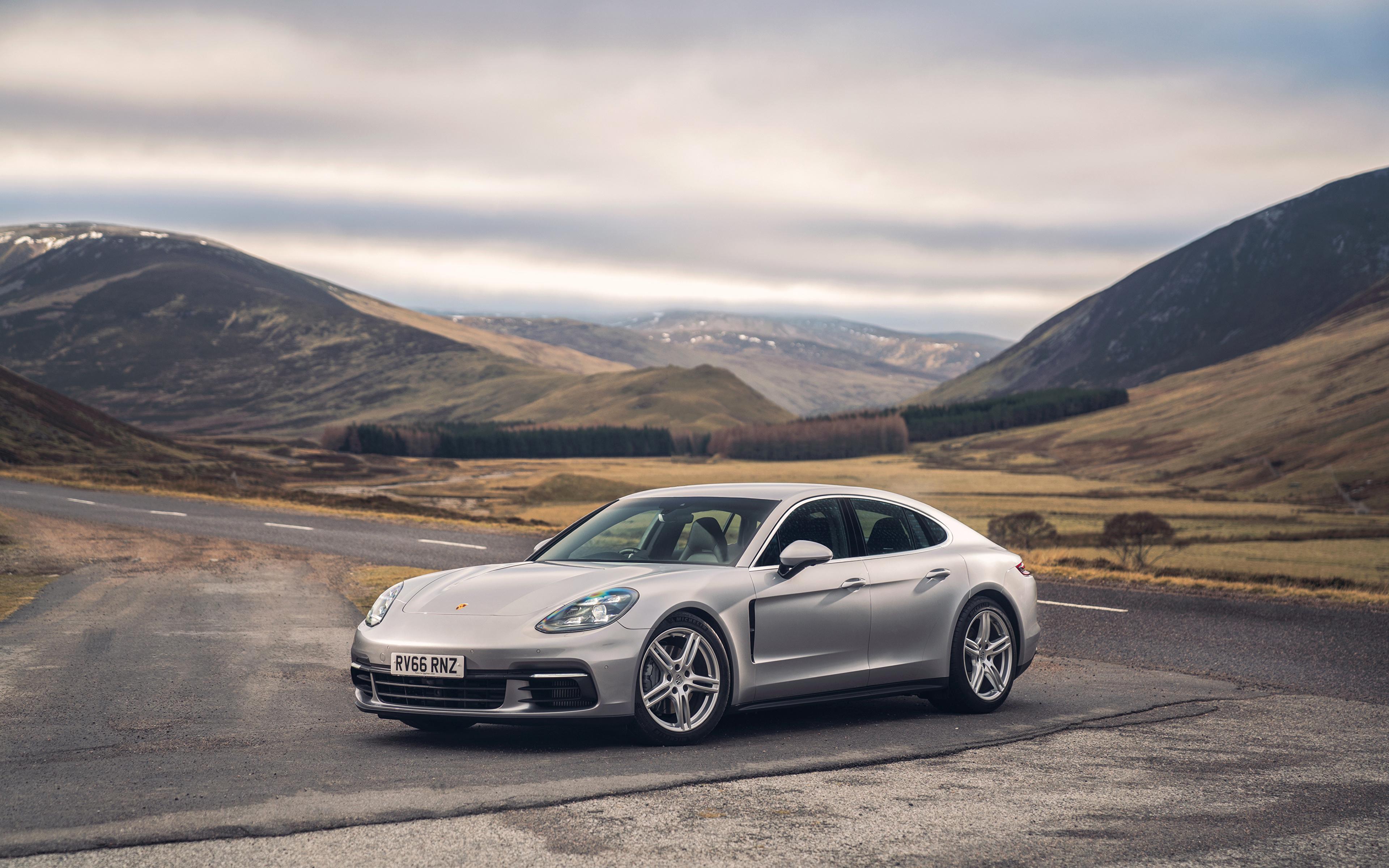 серебристая Porsche  № 984921 без смс
