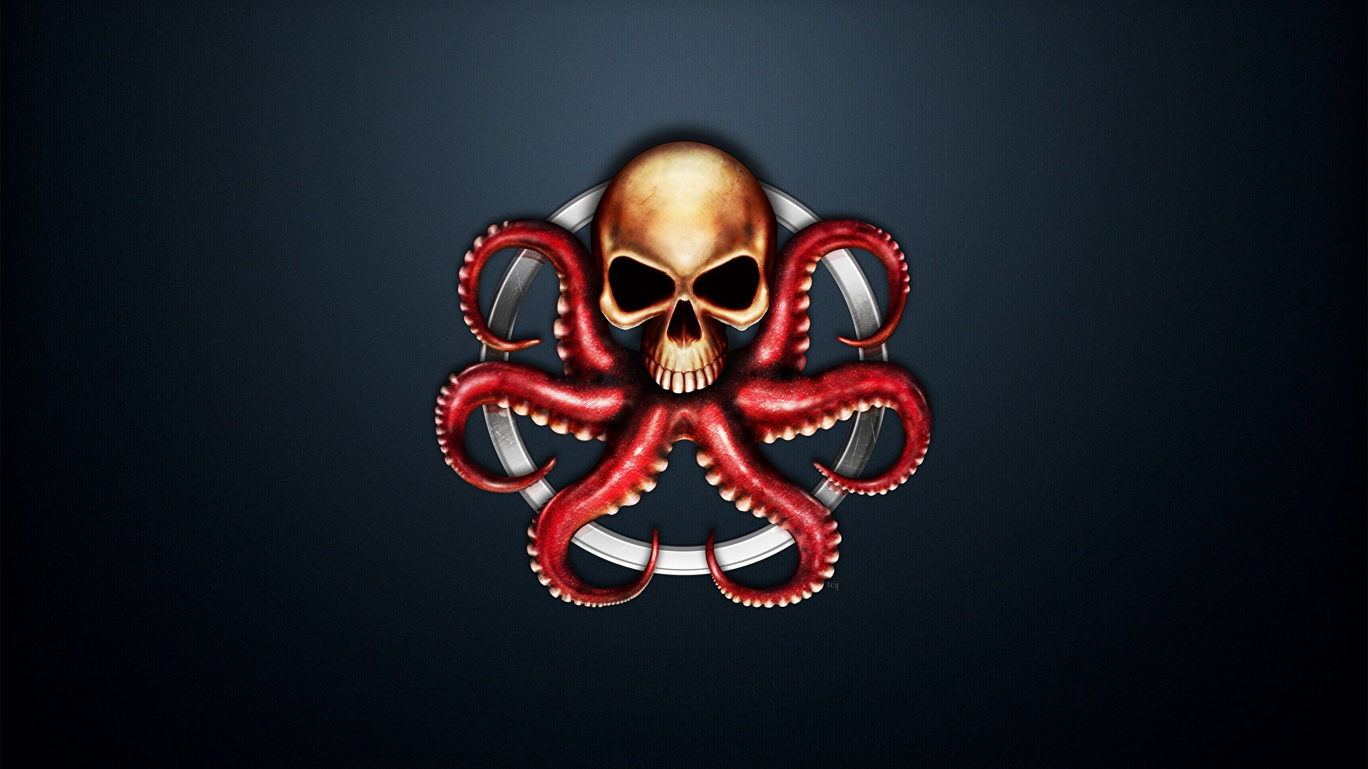 Red skull marvel wallpaper