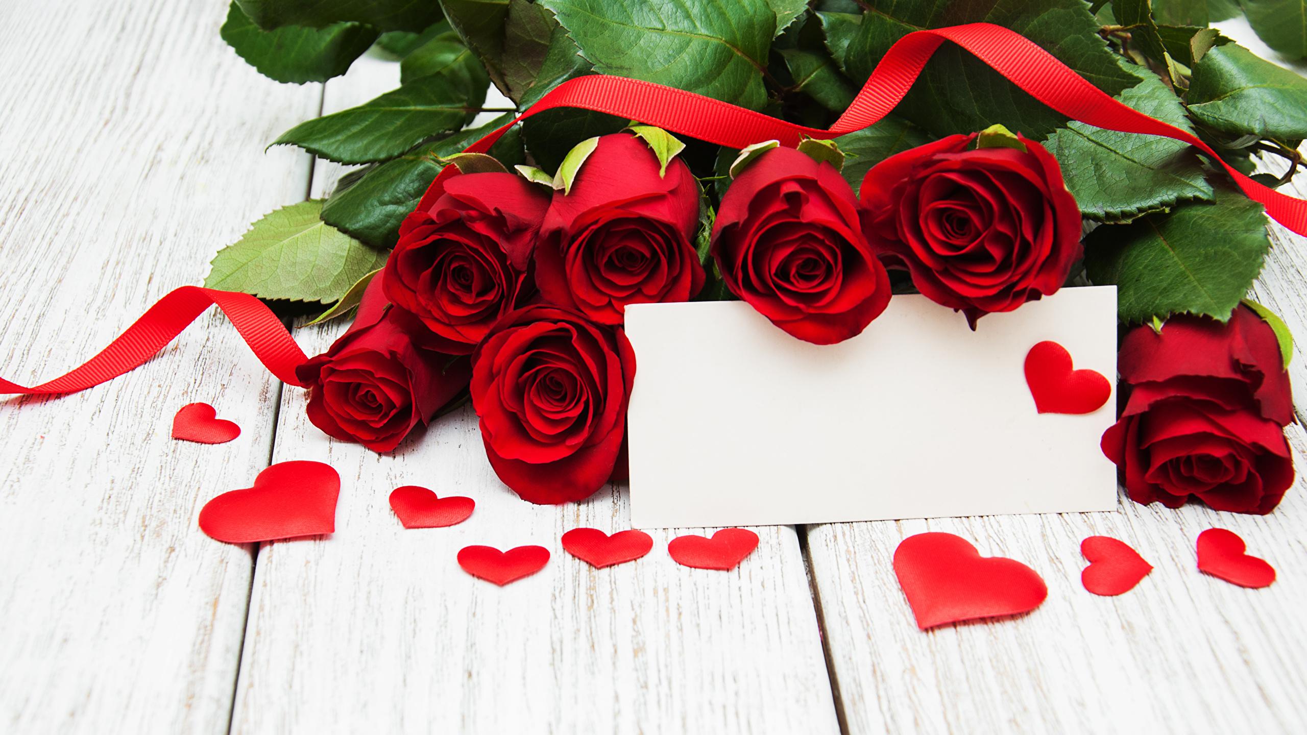 Фото цветы сердце с розами