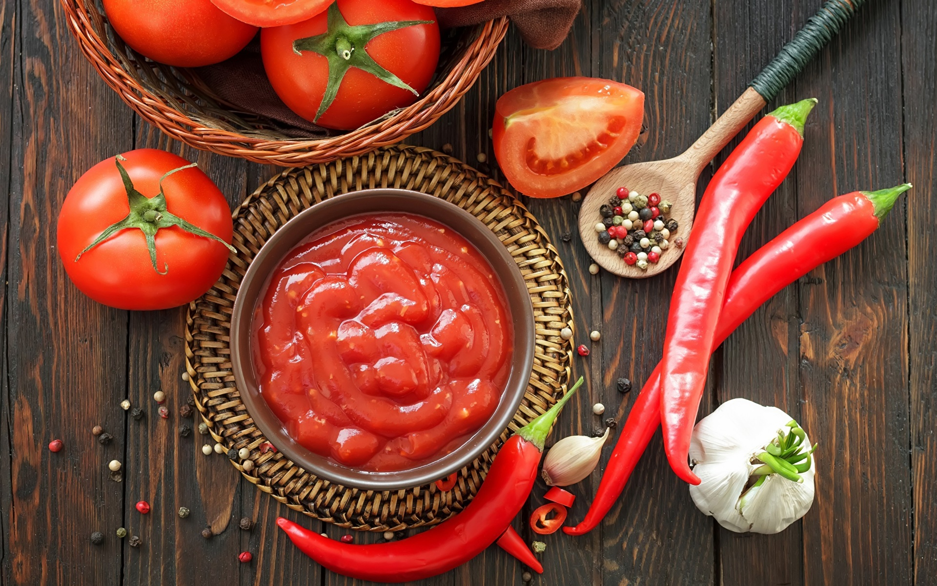 Кетчуп из помидор с чесноком на зиму рецепты