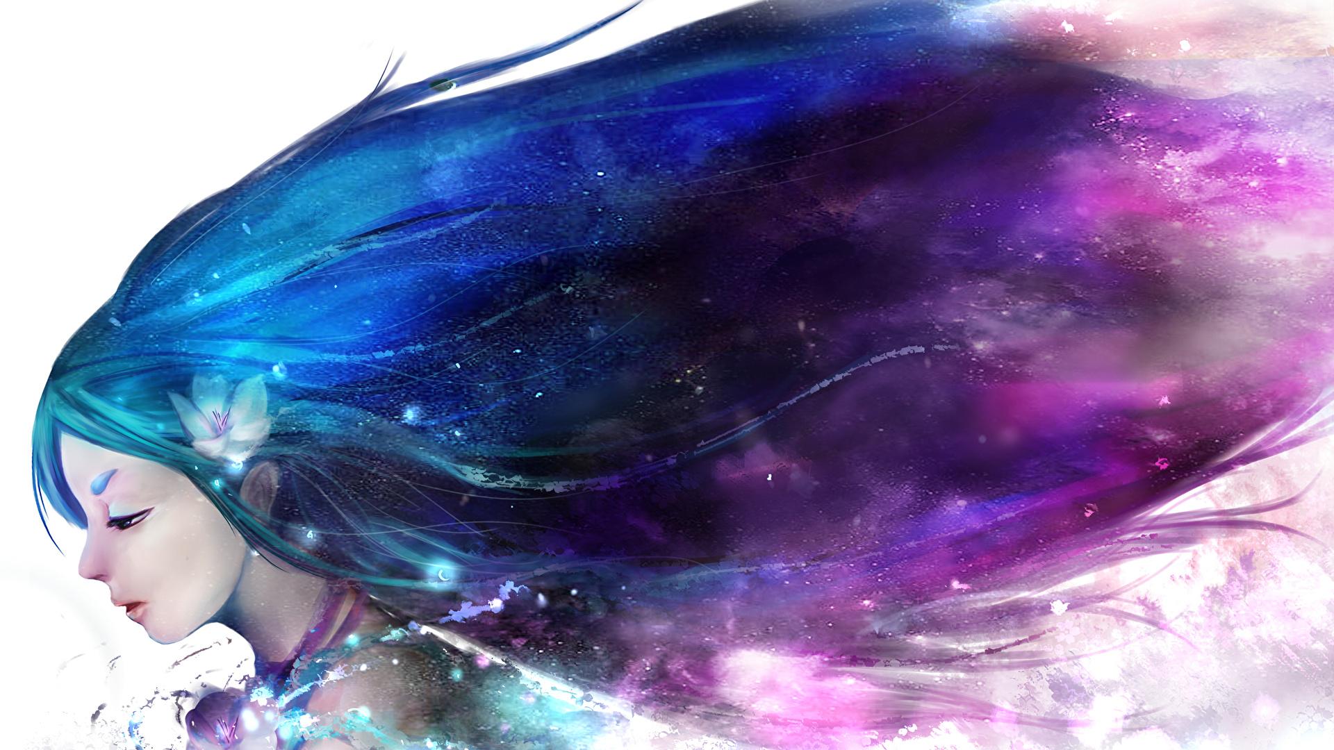 Волосы это связь с космосом