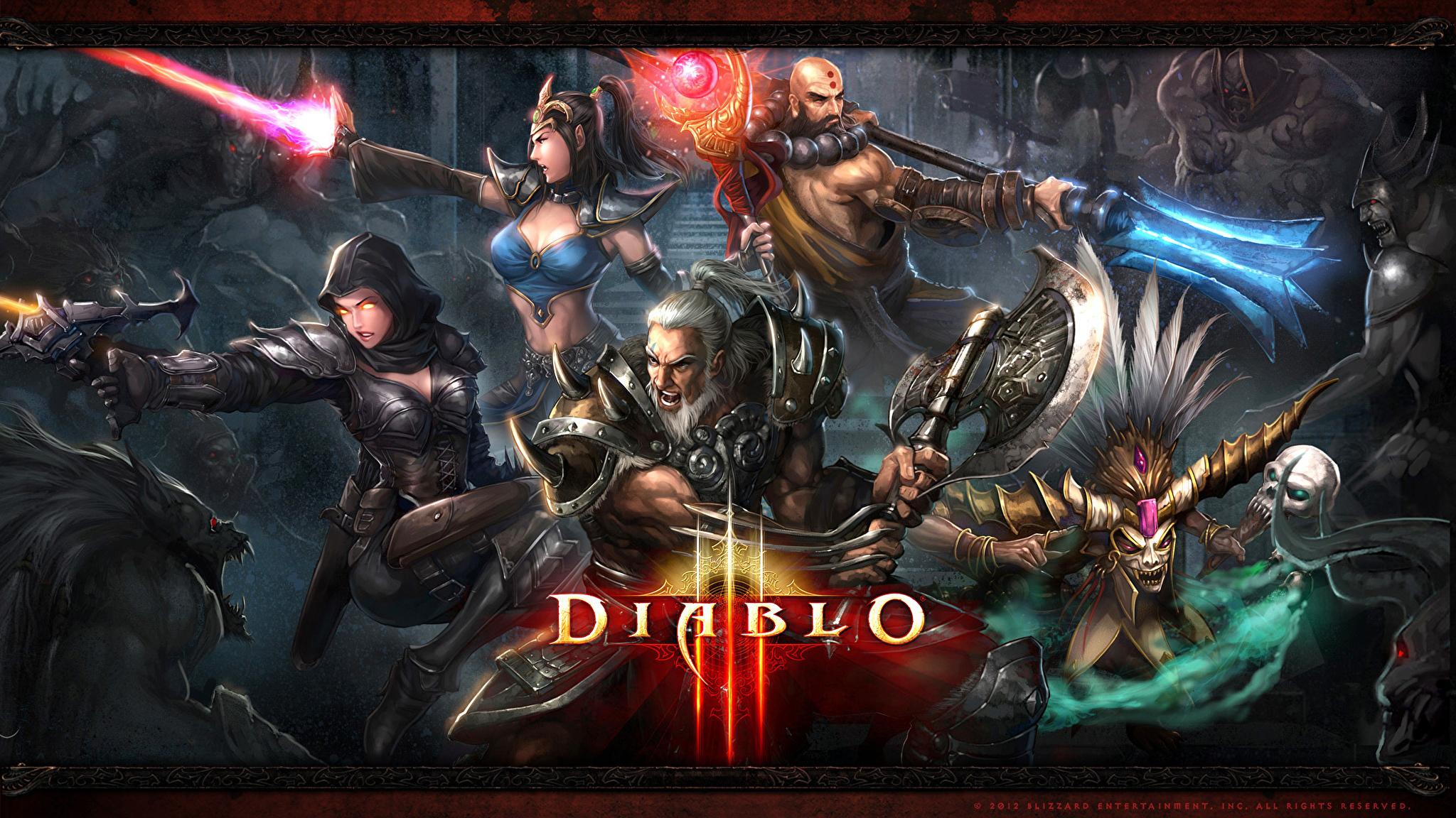 Diablo III игра  № 3057786 бесплатно