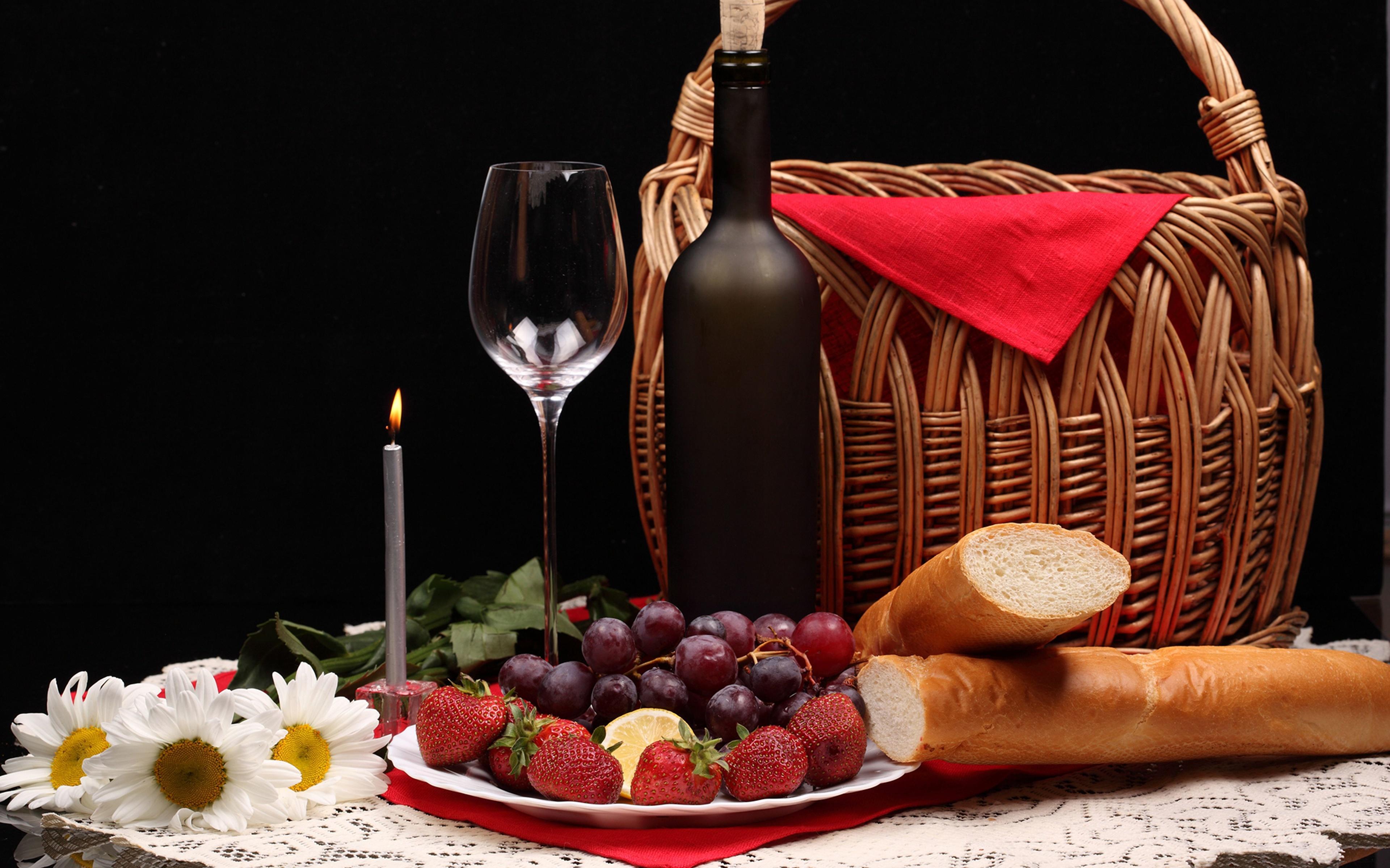 бокал вино корзина сирень  № 3966514 бесплатно