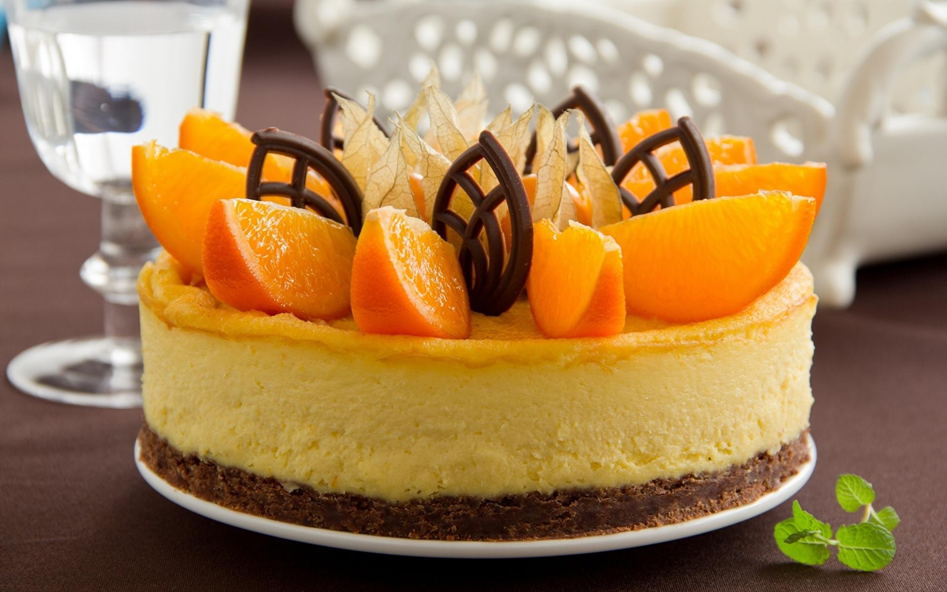 Торты из апельсиновы