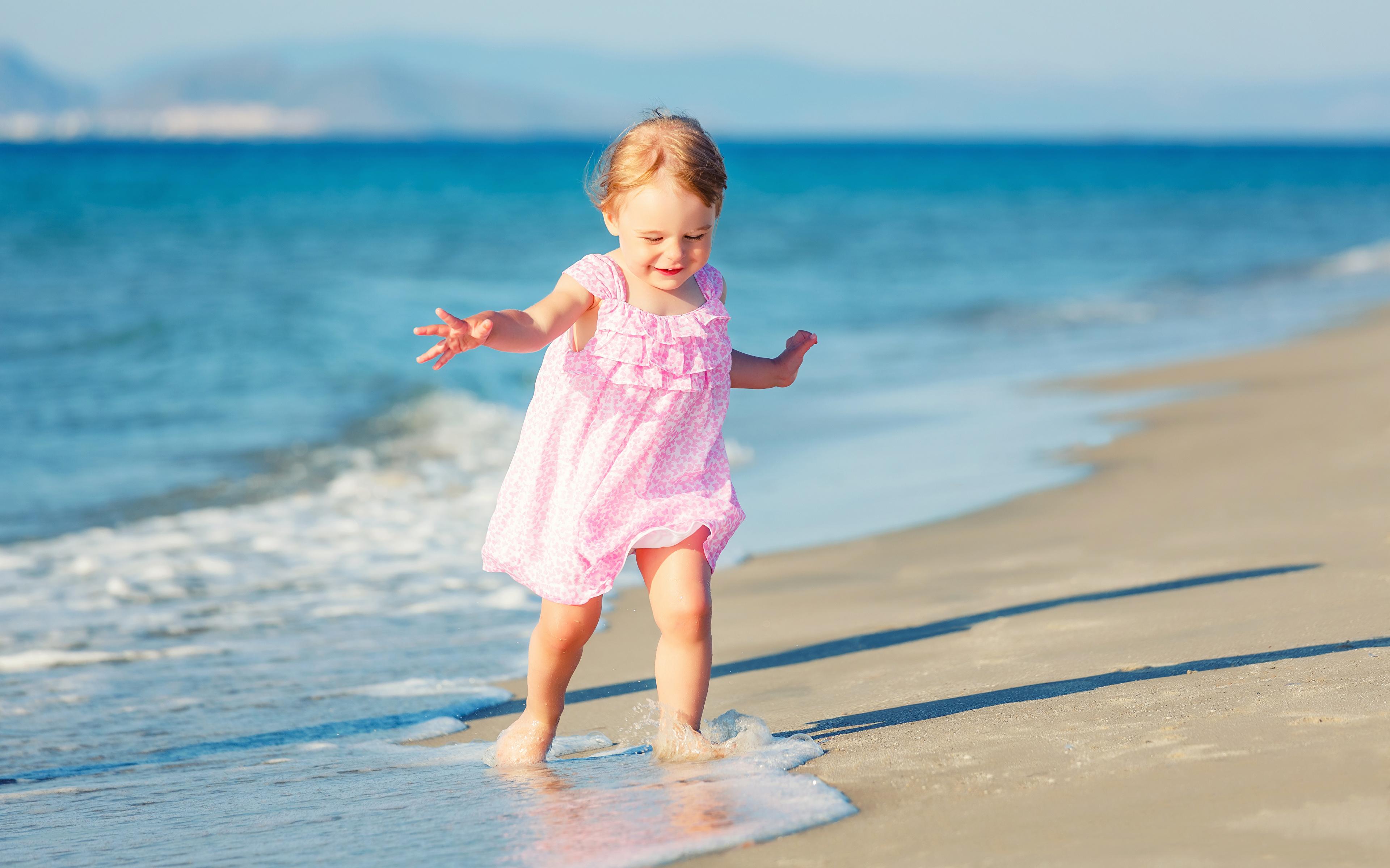Прикольные фото с детьми на море