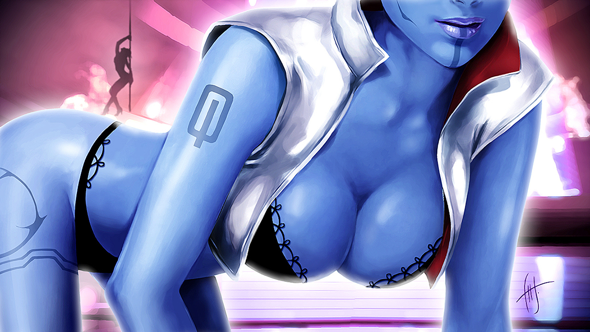 Mass effect 3 porn naked scenes
