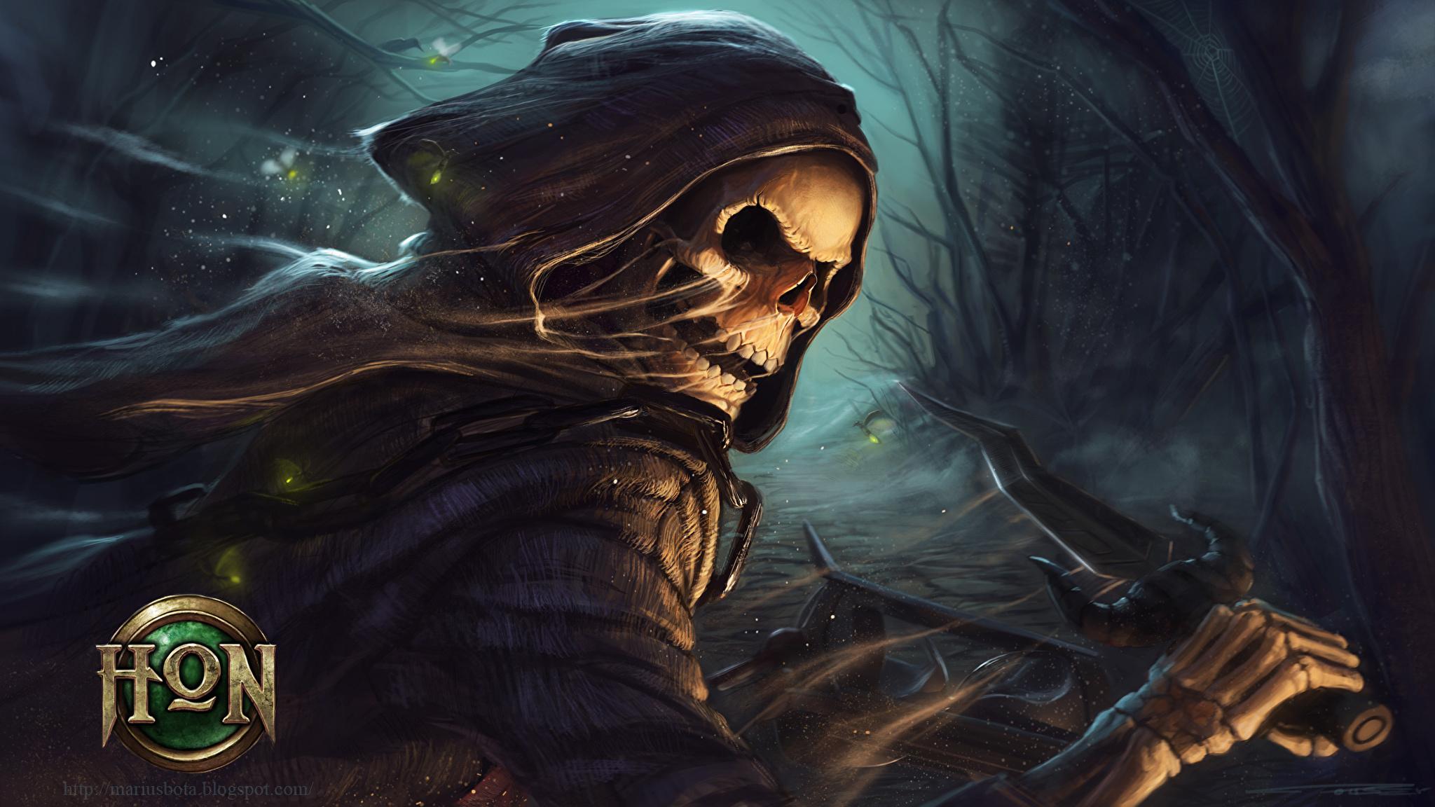 фэнтези графика женщина Grim Reaper  № 3256216 загрузить
