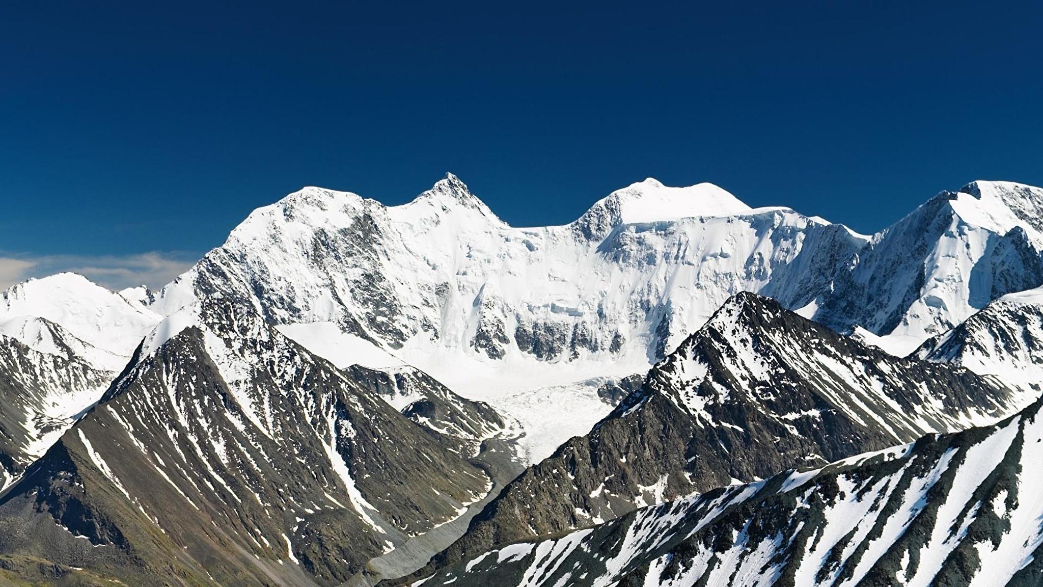 горы высота снег  № 385021  скачать
