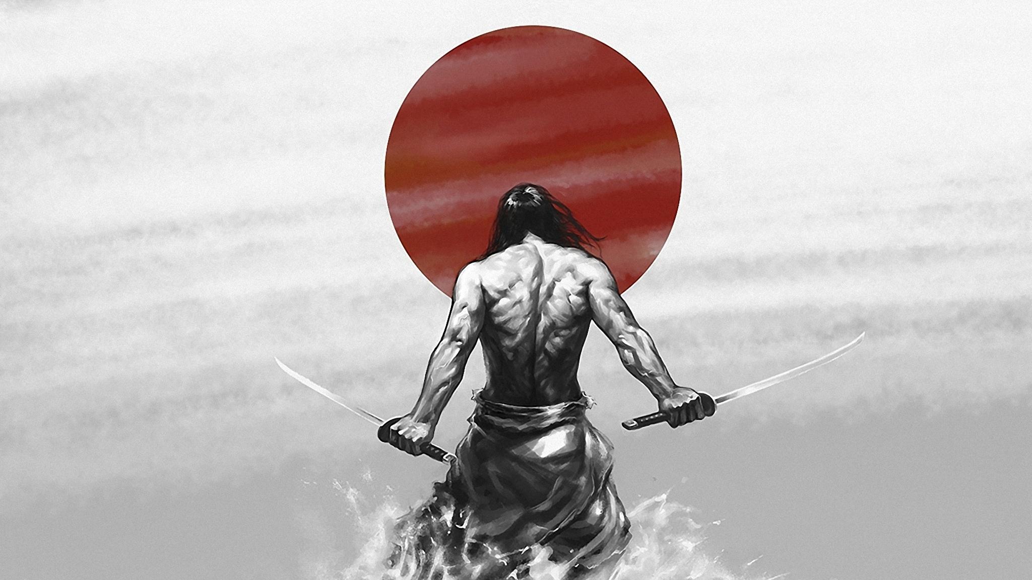 Обои на рабочий стол в стиле самураев