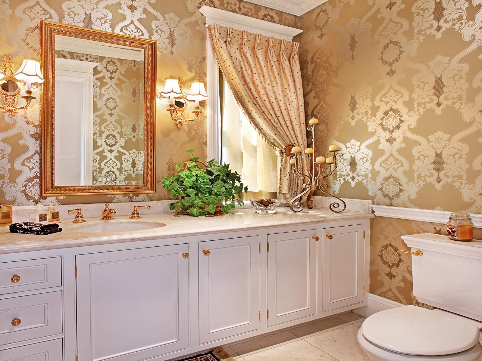 Интерьер ванной обои на рабочий стол