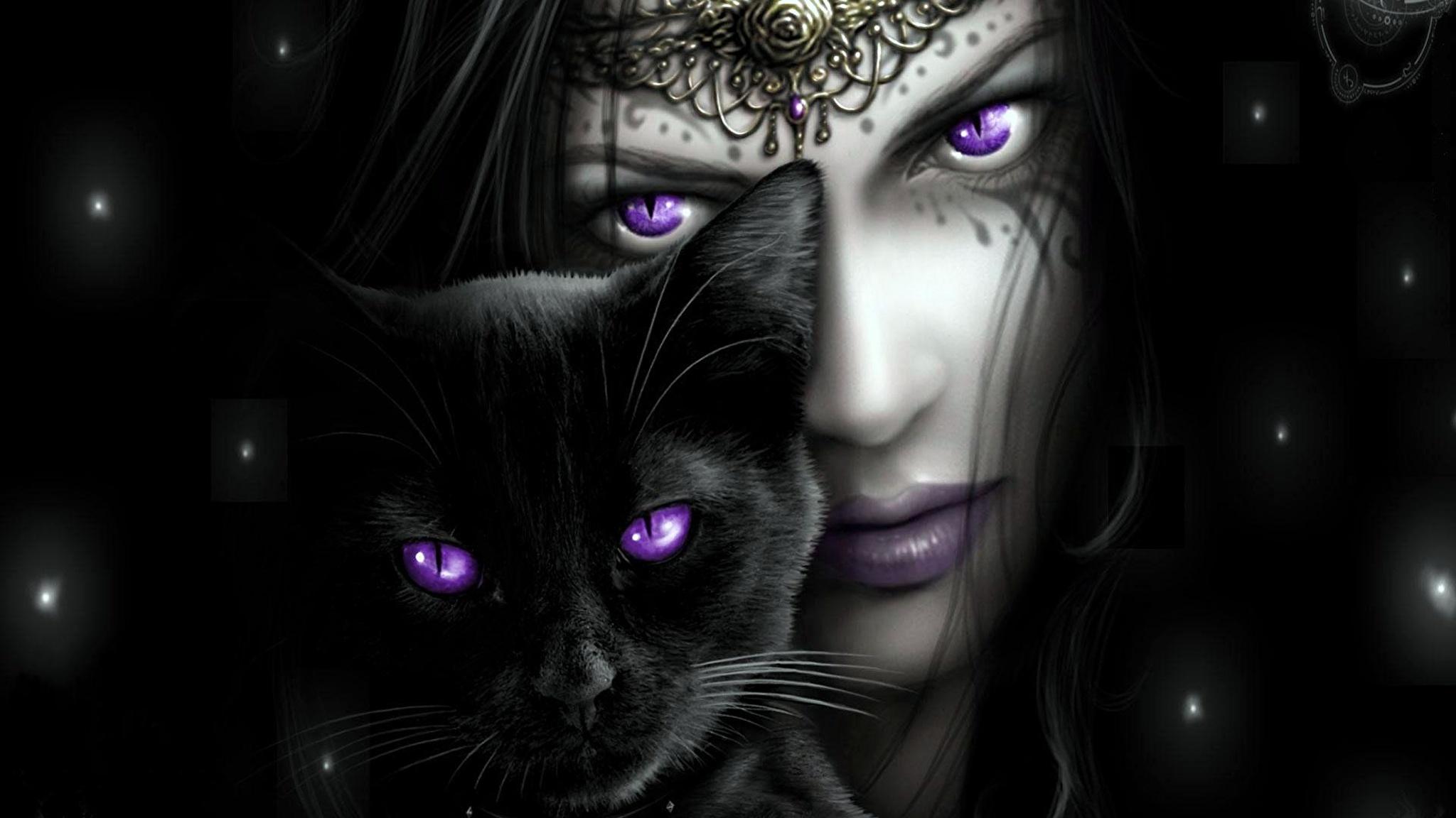 девушка котенок лицо взгляд  № 3597583 без смс