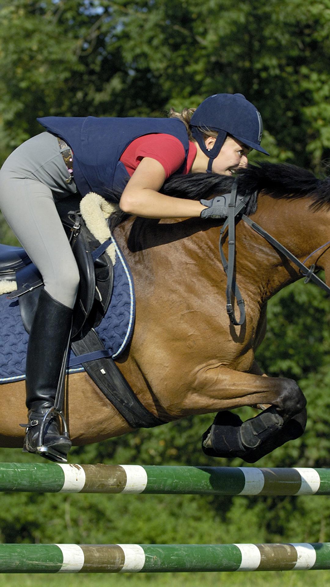 Фото девушек в конном спорте