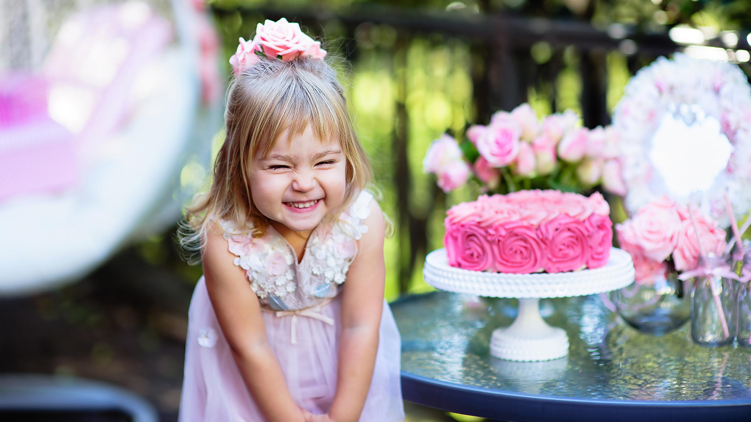Фото с днем рождения дети и торт