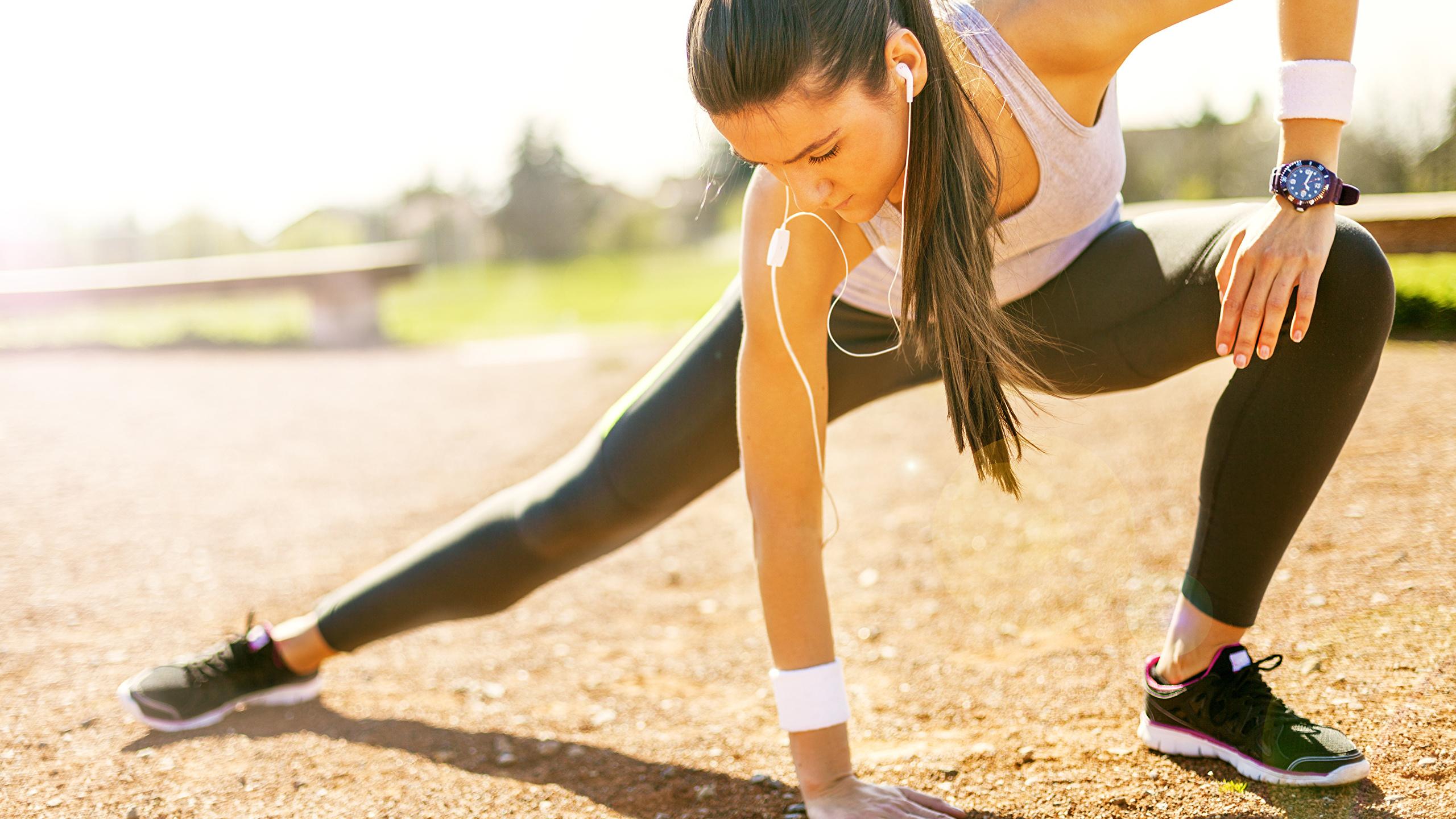 Stretching vor dem sport