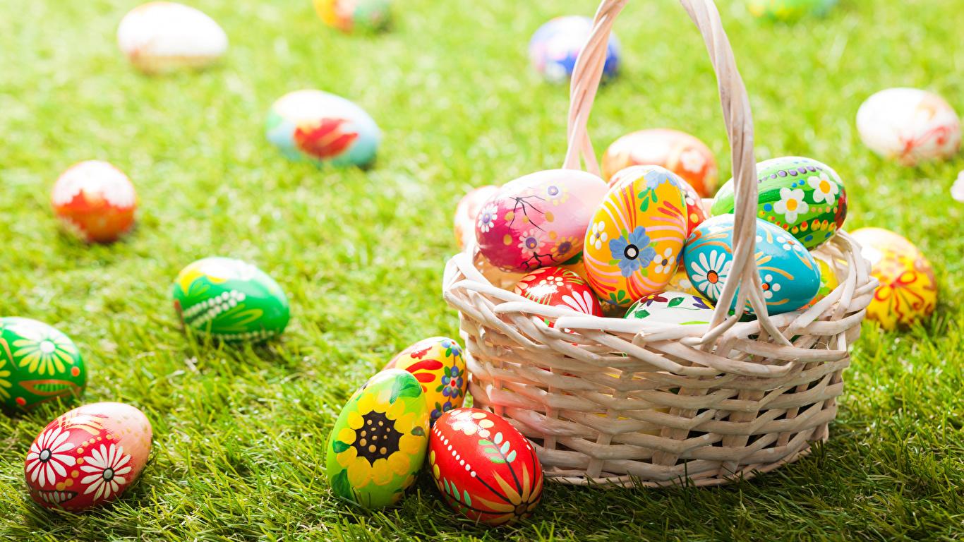 пасха яйца корзина  № 3922968 бесплатно