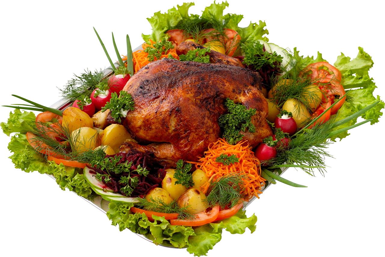 Как красиво подать горячее блюдо