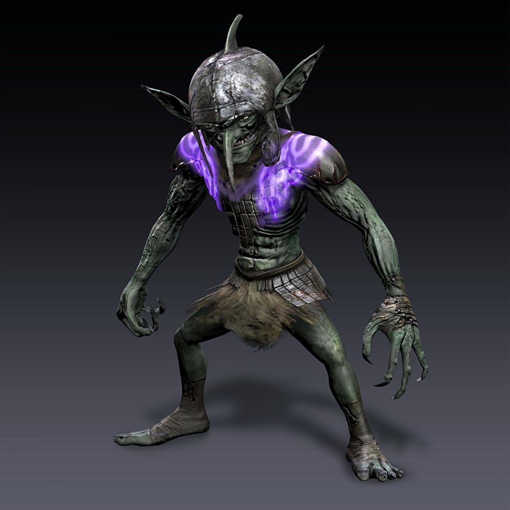 Goblin abuse 3d porn picture