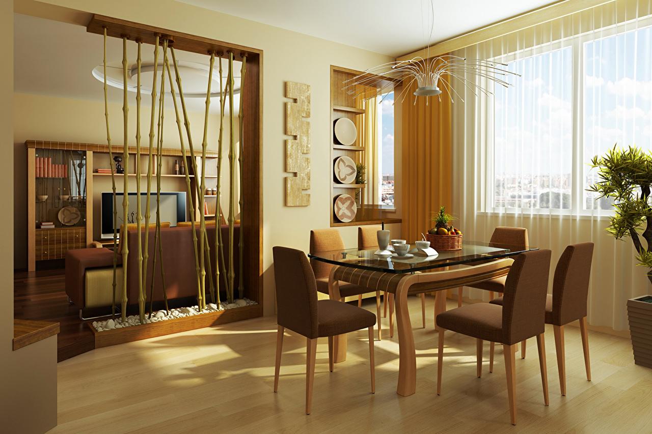 Дизайн столовой комнаты фото