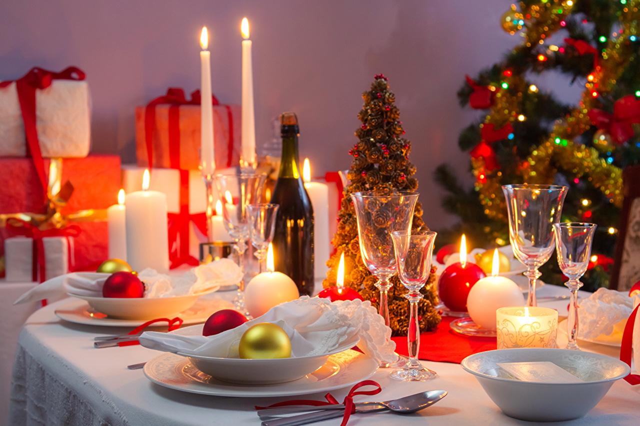 Картинки столы на новый год