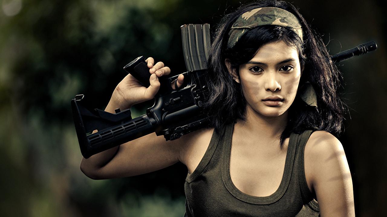 Фото боевых красивых девушек