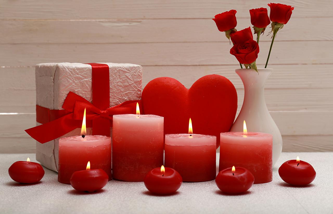 Подарки свечи с фото 63
