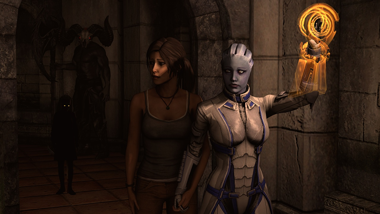 Lara and alien s porn girls