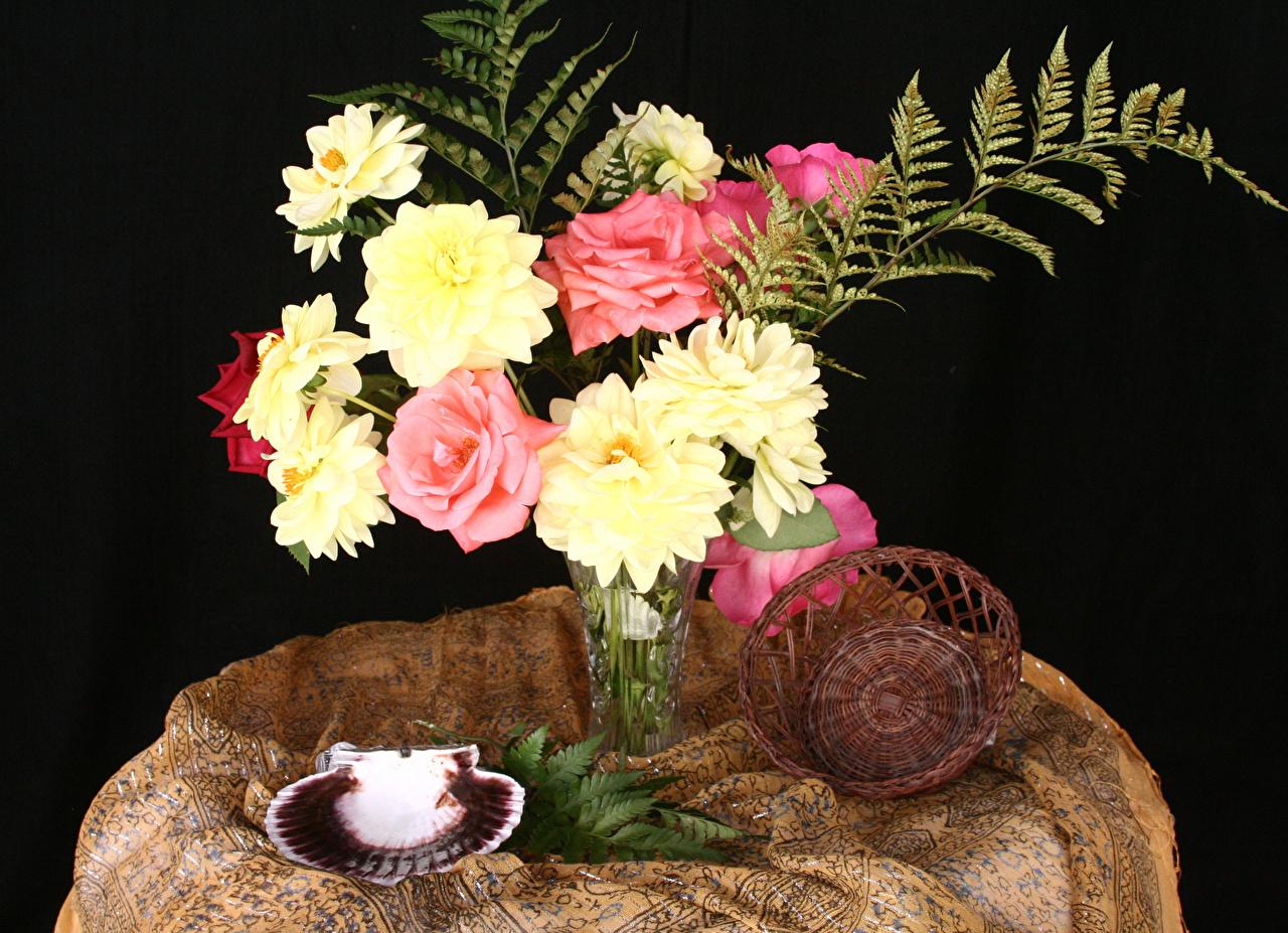 Ракушка для цветов фото