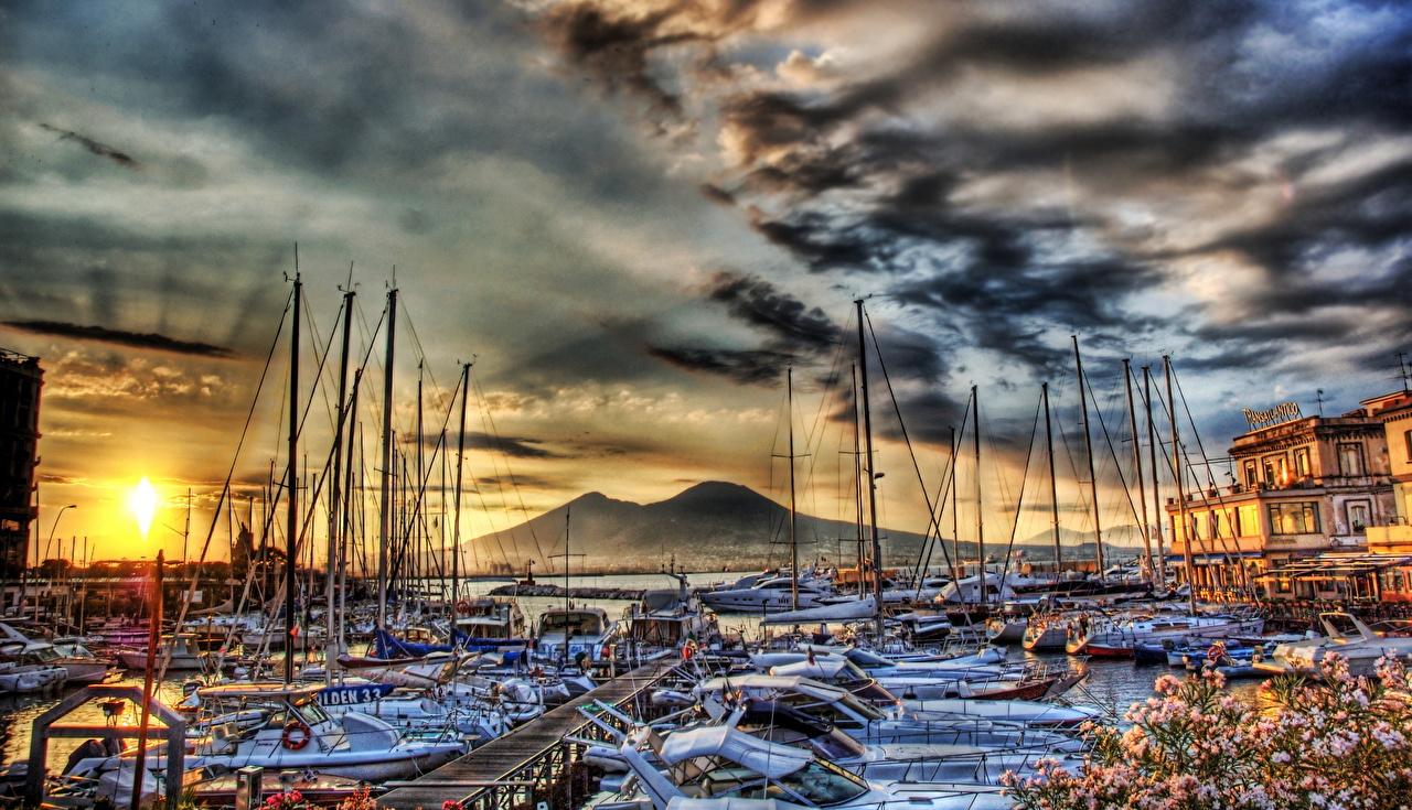 Корабли Италия Неаполь
