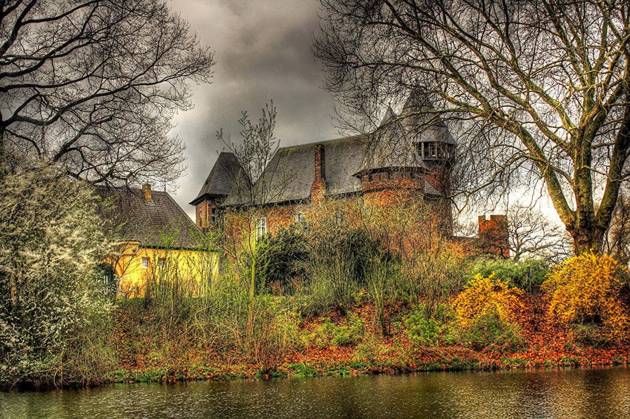 ����� �������� Krefeld Burg Linn HDR ������