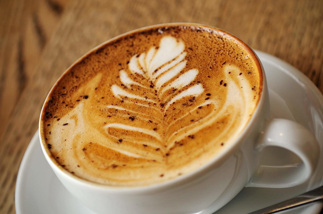 Напитки Кофе капучино Еда
