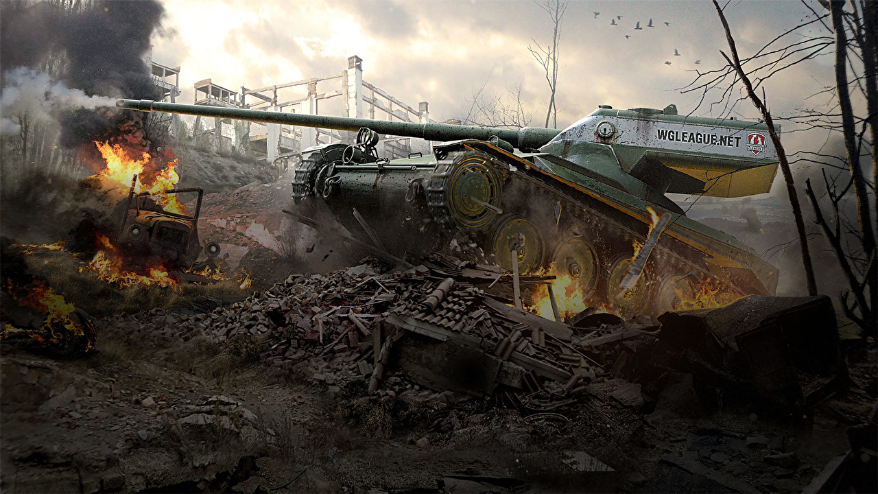 World Of Tanks HD Обои | Фоны - Wallpaper Abyss