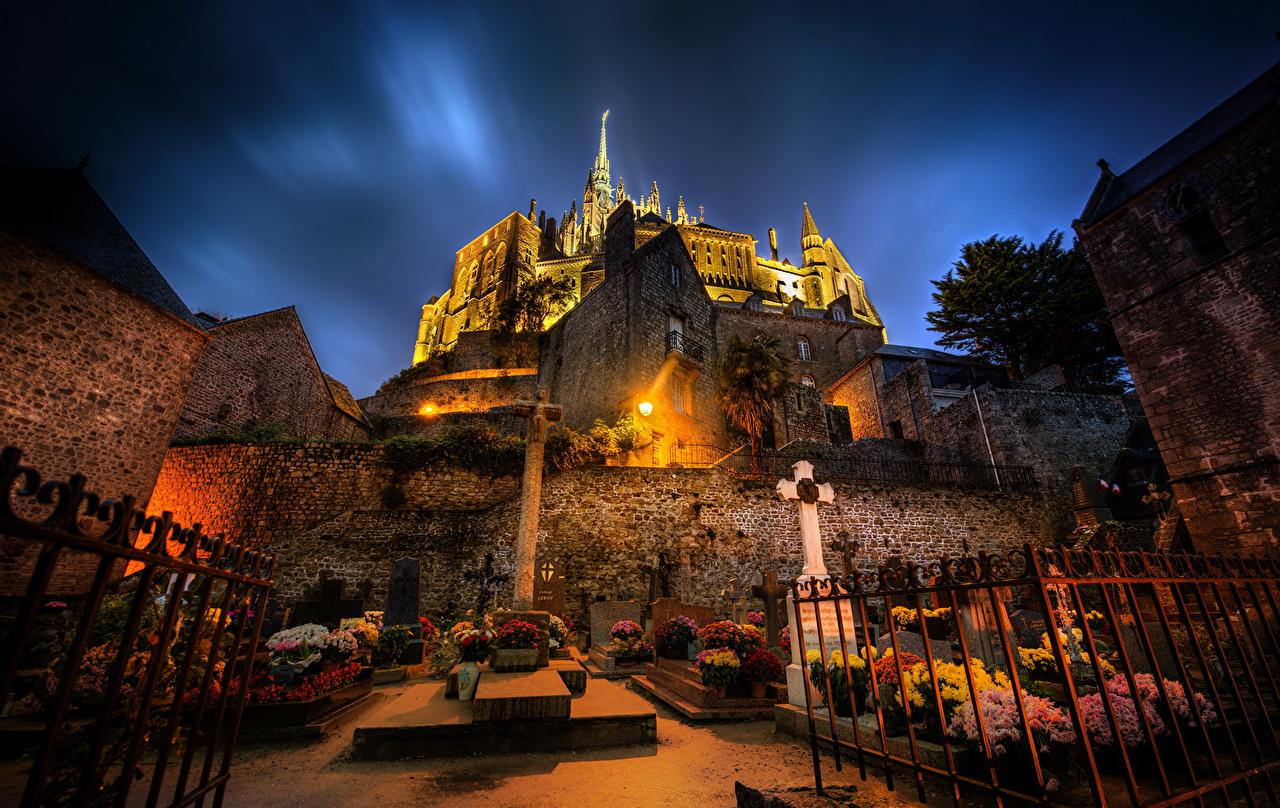 ������� Mont Saint Michel ���� HDR ������