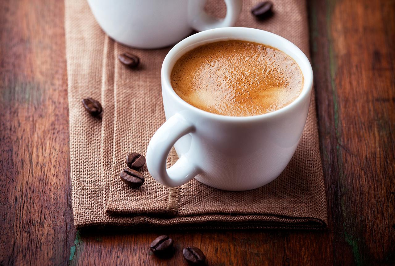Напитки Кофе Чашка Зерна Еда