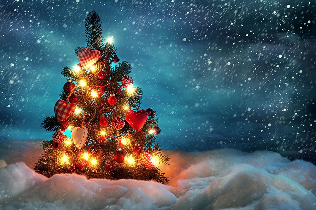 Красивые картинки новый год зима