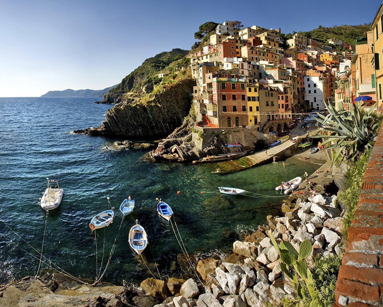 Италия Riomaggiore Города